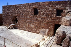 Masada / Bath House Courtyard after conservation