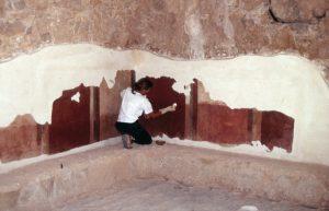Masada / Frescoes cleaning
