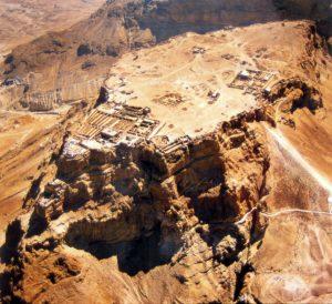 Masada / site view